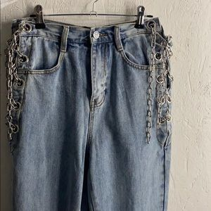 Breaking Chains Straight Leg Jeans